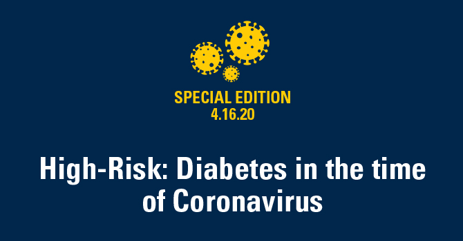 High-Risk: Diabetes in the time of Coronavirus ...